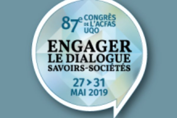 ACFAS 2019 - Participación de la Cité-ID en los Simposios