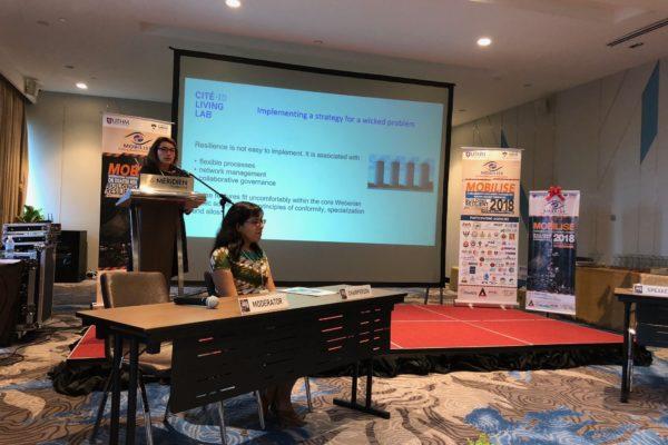 Marie-Christine Therrien como oradora invitada para el proyecto Mobilise 2018 - Reducción del riesgo de desastres.
